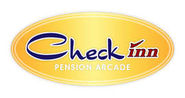 Check Inn Pension Arcade Logo